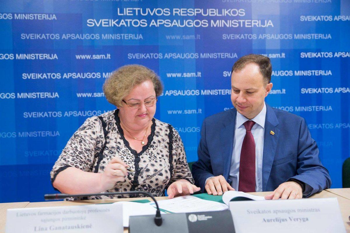Pasirašyta LNSS šakos kolektyvinė sutartis