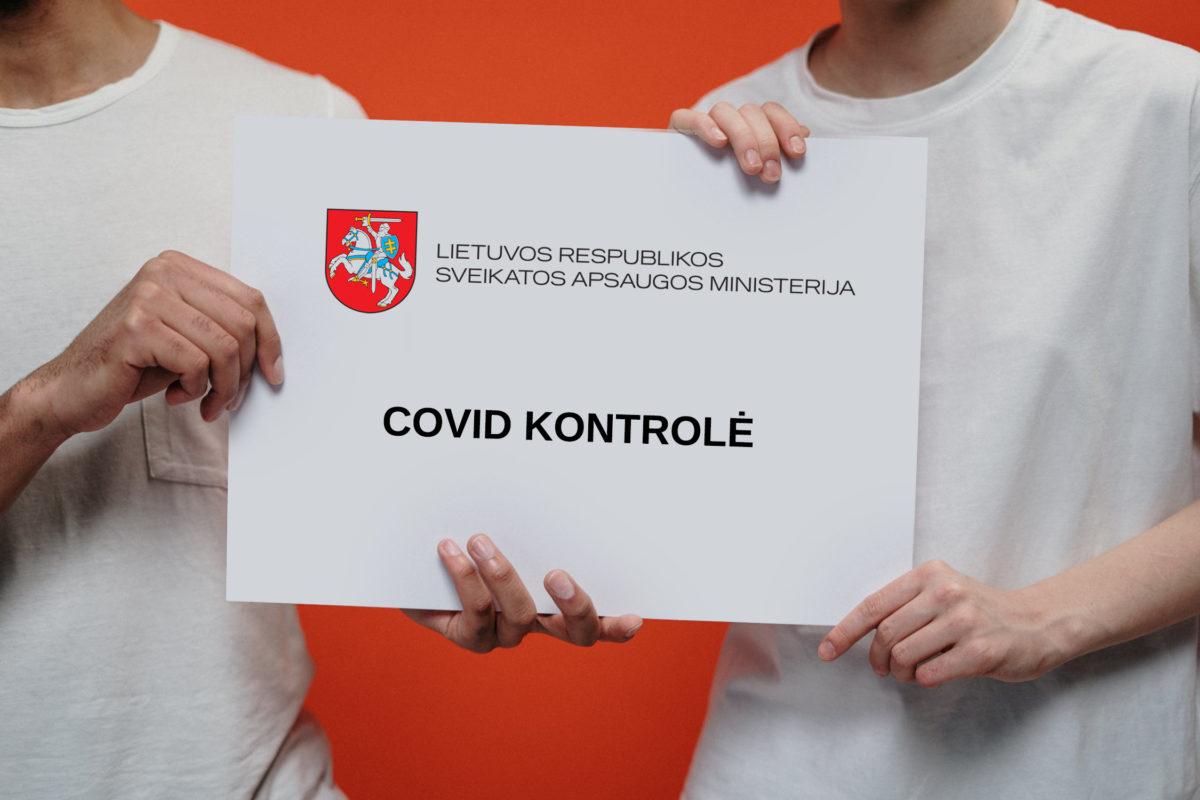 Dėl priemonių susijusių su COVID kontrole